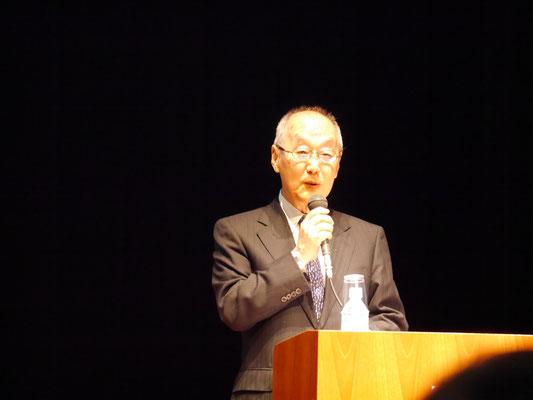 開会宣言 上滝徹也(コンソーシアム)副代表理事