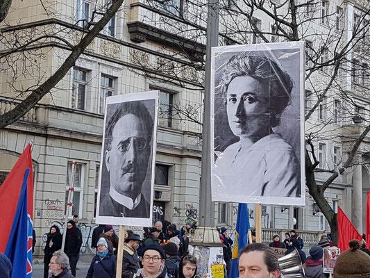 Beginpunt demonstratie: Frankfurter Tor (Friedrichshain)