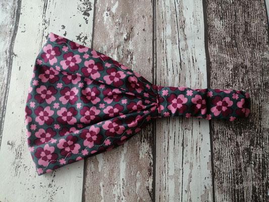 Haarband Kopftuch Bandana Blumen handgemacht Handarbeit handmade SaSch Selbstgefertigtes aus Schwaben