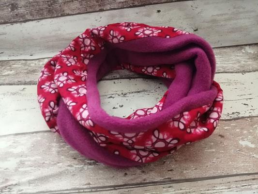 Loop Schal Blumen handgemacht Handarbeit handmade SaSch Selbstgefertigtes aus Schwaben