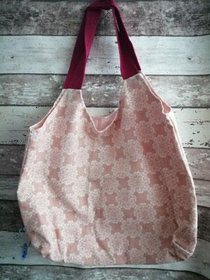 Shopper Tasche Einkaufstasche Ornamente handgemacht Handarbeit handmade SaSch Selbstgefertigtes aus Schwaben