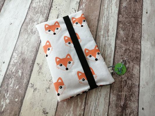 Windeltasche Wickeltasche to go Fuchs Füchse handgemacht Handarbeit handmade SaSch Selbstgefertigtes aus Schwaben