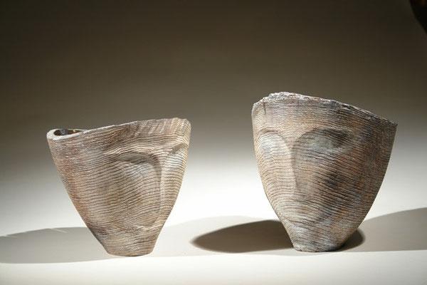 """""""Regard"""" frêne - h 25 cm - 2009"""