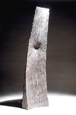 """""""Grande empreinte"""" chêne 150 cm - dos - 2007"""