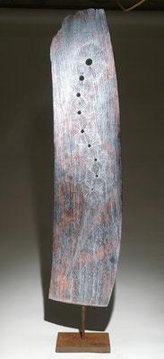 """Poussière d'étoile"" chêne - h 125 cm - 2007"