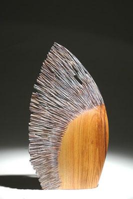 """vol au vent"" frêne - h 45 cm - 2007"