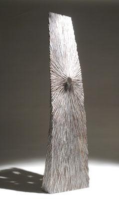 """Grande empreinte"" chêne 150 cm - face - 2007"