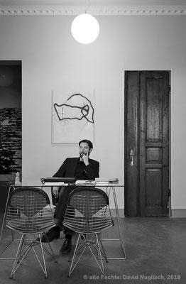 Oliver Kratz, Galerist und Fotograf / Dresden