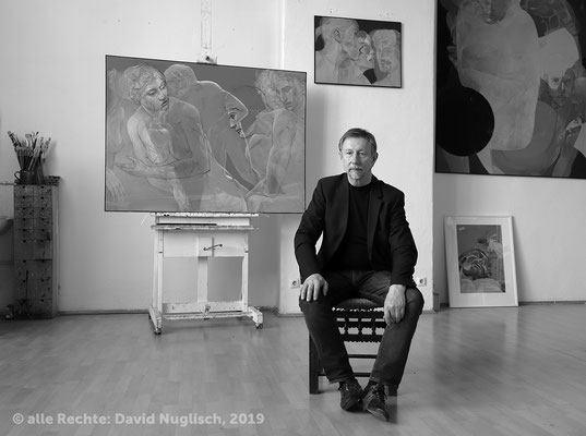 Prof. Henri Deparade, Maler und Grafiker / Dresden