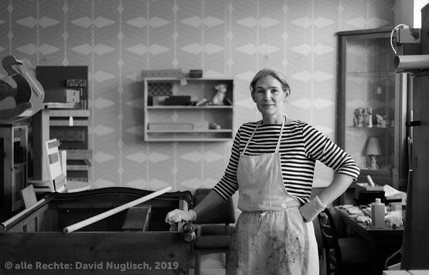 Danielle Heuking, Diplom-Designerin, Inhaberin Famos Manufaktur