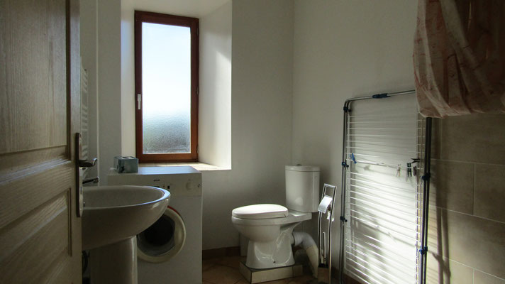 Salle de douche italienne au rez de chaussée