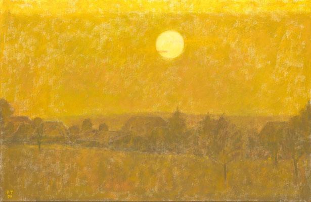 Herbstsonne, 2000, Öl/Leinwand, 65 x 100 cm