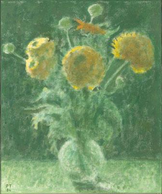 Gegenlicht, 1994, Öl/Leinwand, 55 x 46 cm