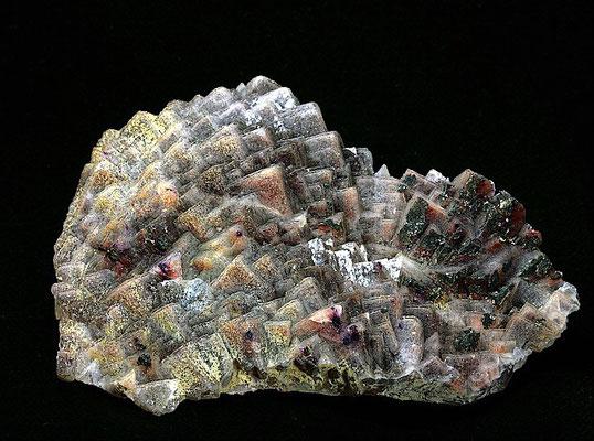 Fluorit  mit Pyrit   > Lissenthan Oberpfalz