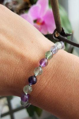 bracelet en fluorine