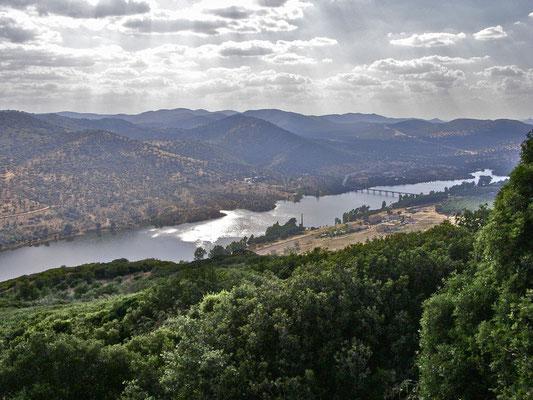 Vista del Valle del Guadiato en Espiel.