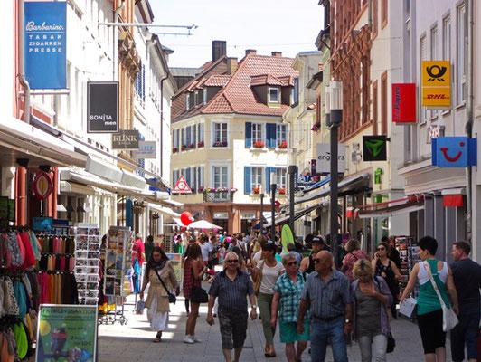 Landau Einkaufsstraße