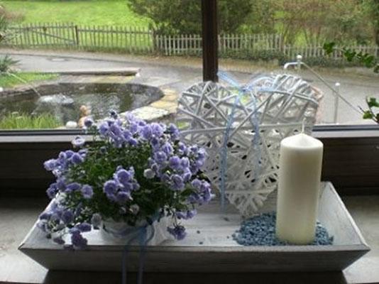 Ferienwohnung nahe Annweiler, Neustadt und Landau, Fensterdekoration