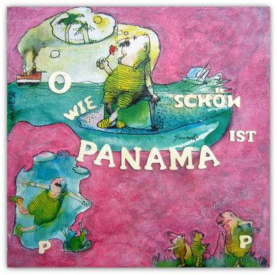 P    wie   Pink und Panama