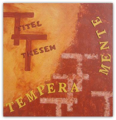 T    wie   Terracotta und Toskanagelb mit TTT