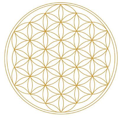 Blume des Lebens Bewusstsein Entwicklung ganzheitliche Gesundheit Seele baumelt baumeln lassen energetisieren Energie Leben