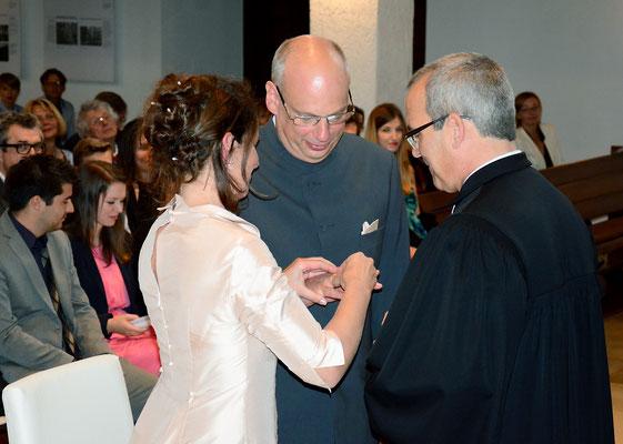 Familie Ulrike und Ralph Hartmann, Mannheim, Lehrerin / Dekan Evangelische Kirche Mannheim
