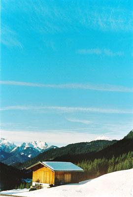 Scheune in Alpen