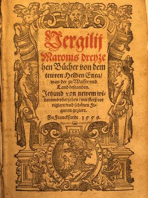 Titelblatt aus: Vergil: Aeneas. Übersetzt von Thomas Murner. Frankfurt/M 1559.