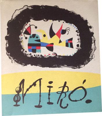 Einband von: Jacques Prévert, G. Ribemont-Dessaignes: Joan Miró. Maeght Éditeur 1956.