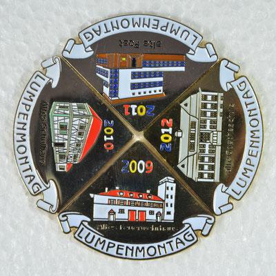 Puzzleplakette 2009-2012