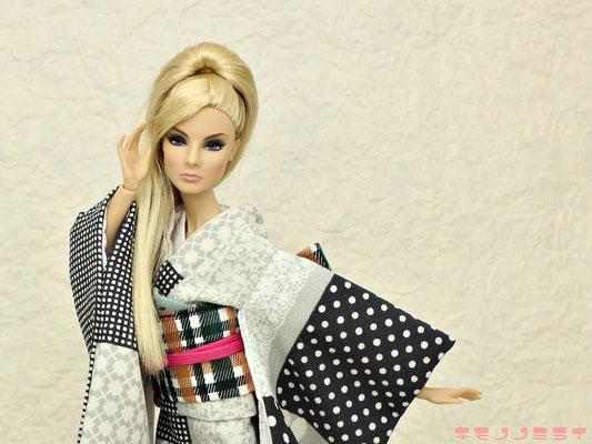 Fashion Royalty kimono,kimono doll,Integrity kimono