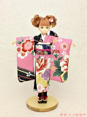 middie-Blythe kimono,Ruruko kimono doll,repro Licca kimono