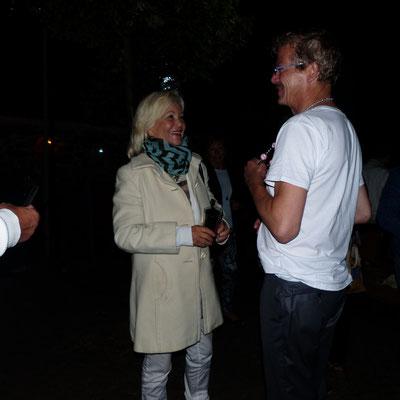 Dorit Gäbler mit Carsten Linke