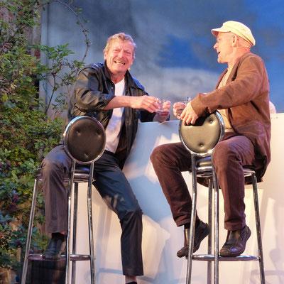 Fabius Stoff (Carsten Linke) und Martin Stengele (Dirk Neumann)