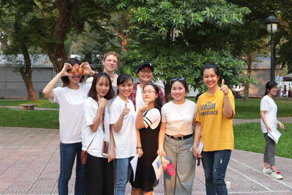 hình ảnh tại buổi giao lưu ngoại khoá - Picnic du học Đức GSC