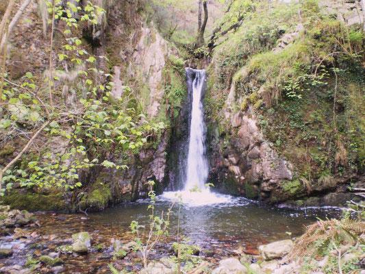 Cascada del Chorrón, Villamayor, Piloña.