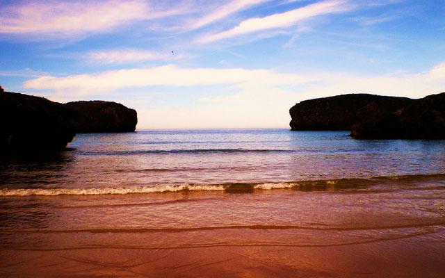 Playa El Borizo, Llanes.