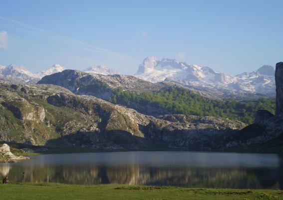 Lago Ercina, Picos de Europa, Asturias.