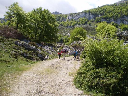 Senderismo en Picos de Europa, Asturias.