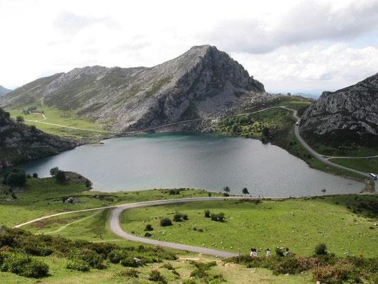 Lago Enol, Picos de Europa, Asturias