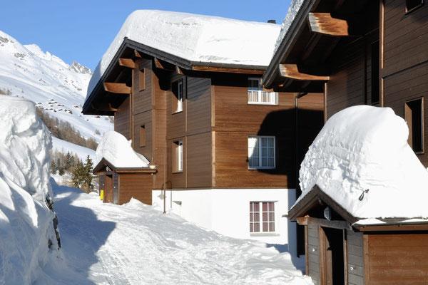 Alpine Village Whg. 6.6, im Winter