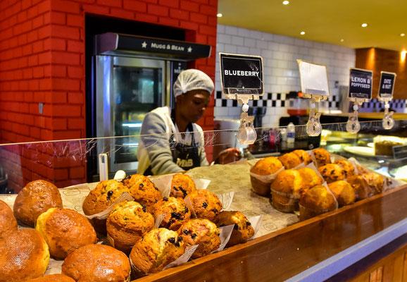 Mugg and Bean mit eigener Bäckerei