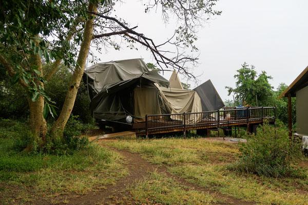 So sehen die alten Zelte aus...