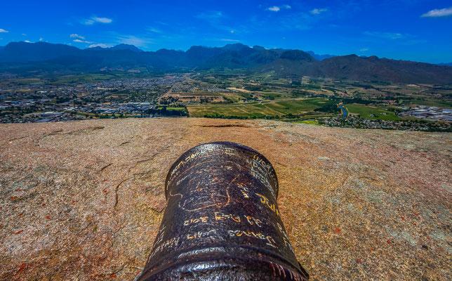 Paarl Mountain Kanone