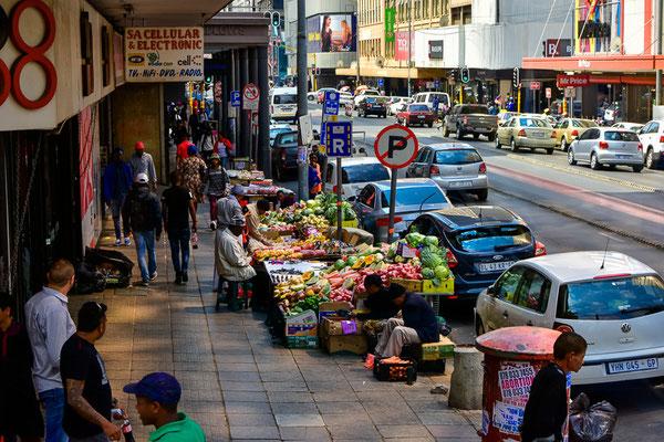 Strassenmarkt, überall anzutreffen.