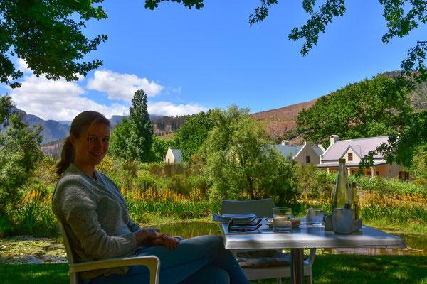Im Garten von Glendwoo Vineyards