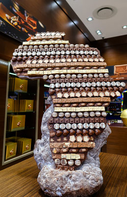 Im Lindt-Store - Chocolate Africa!
