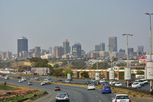 Johannesburg-Zentrum-Skyline.