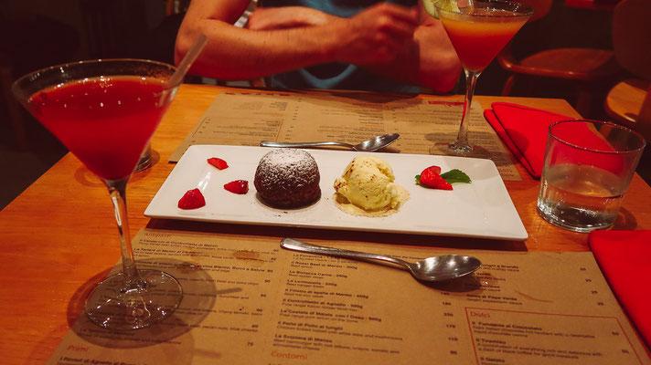 Chocolate Fondant mit Vanille-Eis