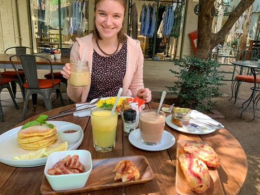 Frühstück im Salvation Cafe (44 Stanley)